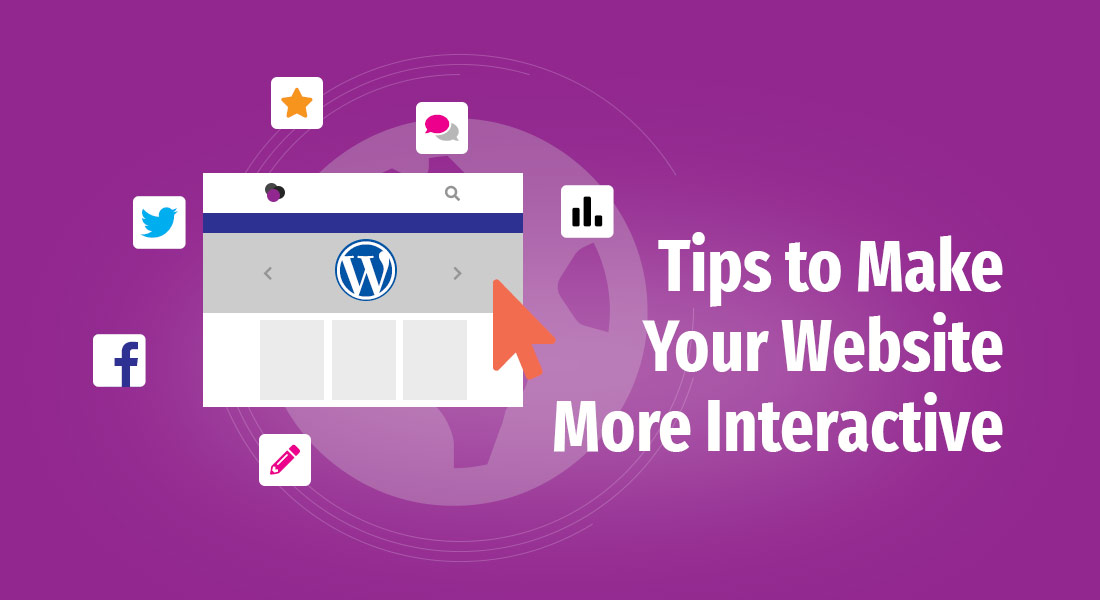 tips to make your website more interactive